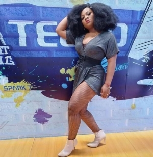 """#BBNaija: """"I and Boma just played upon a script, my husband is a bad guy, he will understand"""" – Tega"""