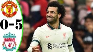 Manchester United vs Liverpool 0 - 5 (Premier League 2021 Goals & Highlights)