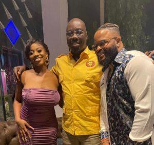 Obi Cubana Hosts Whitemoney And Angel at His Club (Video)