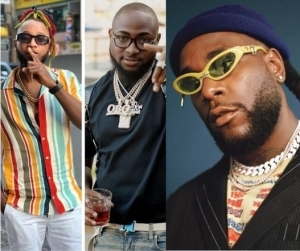 "Yung6ix Calls On Davido And Burna Boy To End Their ""Beef"" Over Fear It May Escalate"