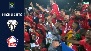 Angers vs Lille 1 - 2  (Ligue 1 Goals & Highlights 2021)