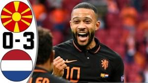 North Macedonia vs Netherlands 0 - 3  (EURO 2020 Goals & Highlights)