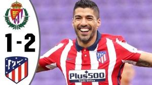 Real Valladolid vs Atletico Madrid 1 - 2 (LaLiga Goals & Highlights 2021)