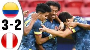 Colombia vs Peru 3 − 2  (Copa America 2020 Goals & Highlights)