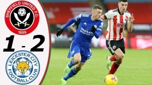 Sheffield United vs Leicester City 1 - 2 (EPL Goals & Highlights)