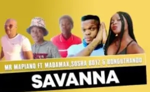 Mr Mapiano – Savanna Ft. Madamax, Sosha Boyz & Bonguthando (Original)