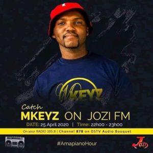 Mkeyz – JoziFm Amapiano Mix