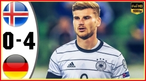 Iceland vs Germany 0 − 4 (2022 World Cup Qualifiers Goals & Highlights)