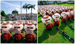 COVID19: Check out Lagos state disinfectant equipment