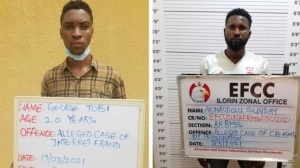 BUSTED!! 2 Fake American Soldiers Jailed For Love Scams In Kwara