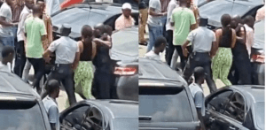 See the Lady who stole an iPhone and hide it in her private part (video)