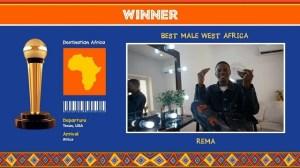 Rema Wins AFRIMMA's 2020 Best Male West Africa Award – Full Winners List
