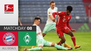 Bayern Munich vs Werder Bremen 1 - 1 (Bundesliga Goals & Highlights)