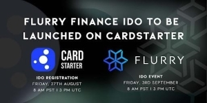 Flurry Finance IDO To Be Launched on CardStarter