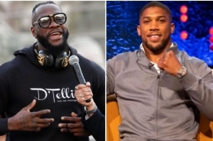 Anthony Joshua Announces He Is Willing To Fight Deontay Wilder Next Year
