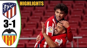 Atlético Madrid vs Valencia 3 - 1 (LA Liga Goals & Highlights 2021)