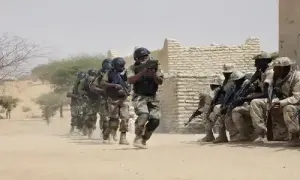 JUST IN!!! Troops Allegedly Exchange Fire With Terrorists In Borno