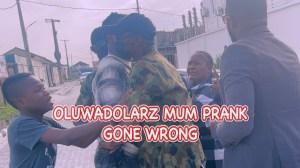 Zfancy - Oluwadolarz Mum Prank  (Comedy Video)