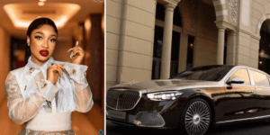 Congratulations Pour In For Tonto Dikeh As She Buys Herself A 'MAYBACH' Worth Millions Of Naira For Her 36th Birthday