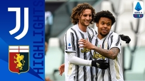 Juventus vs Genoa 3 - 1 (Serie A  Goals & Highlights 2021)