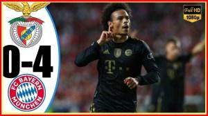 Benfica vs Bayern Munich 0 − 4 (Champions League 2021 Goals & Highlights)