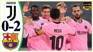 Juventus 0 -  2 Barcelona (UEFA Champions League) Highlights