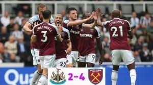Newcastle vs West Ham 2 − 4 (Premier League 2021 Goals & Highlights)