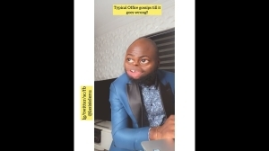 Lasisi Elenu - When You Have A Serial Gossip In Your Office (Comedy Video)