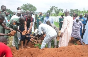 Army General who was murdered in Abuja laid to rest