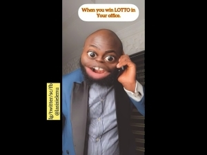 Lasisi Elenu - When You Win Lotto And Decide To Employ Your Boss (Comedy Video)