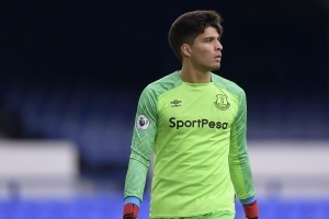 Everton Goalkeeper Joao Virginia Has Signed A New Long-Term Contract With Club
