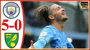 Manchester City vs Norwich City 5 - 0 (Premier League  2021 Goals & Highlights)