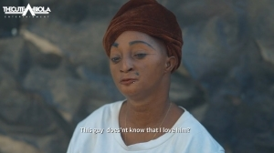 TheCute Abiola - Aunty Ramota Visits Her Crush [LADERIN (Episode  1)] (Comedy Video)