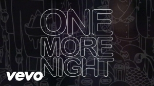 Maroon 5 - One More Night (Lyrics Video)