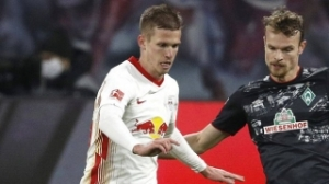 RB Leipzig midfielder Dani Olmo quizzed directly about Barcelona, Man City rumours