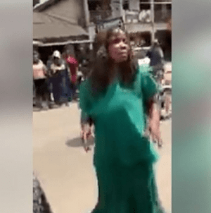 Woman Runs Mad After Being Dropped Off By Suspected Ritualist In Delta (Video)
