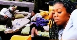 BBNaija: Whitemoney Tells Angel What to Do After Fight With Boma