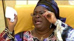 Chibok Girls: First Lady Breaks Down In Tears (Video)