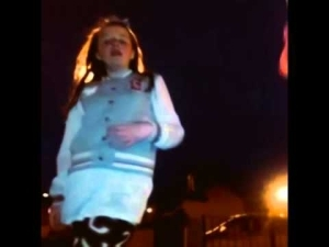 Video: White Kid Dances Raunchy to Ketchup and Banky Collabo