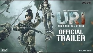 Uri: The Surgical Strike (2019) [Hindi]  [HDCam] (Official Trailer)