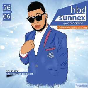 Happy Birthday to me, Fidelis SunnEx (Waploaded Boss)