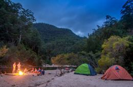 river, camping, fire, tent, colo, kayak