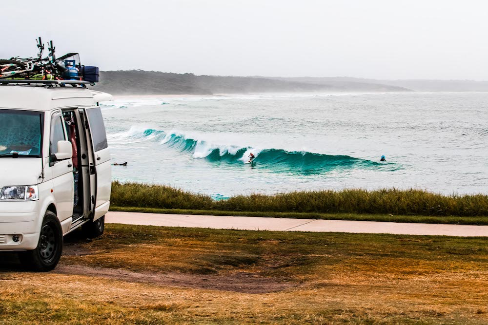 Why You Should Start Living An Adventurous Lifestyle Scout Hinchcliffe, vanlife, bikes, surf, wave, surfer, headland