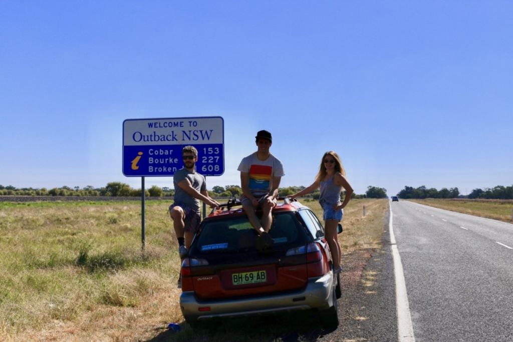 Outback and Back, Ross Clayton, NSW, desert, outback, subaru, road trip, Emily Franke