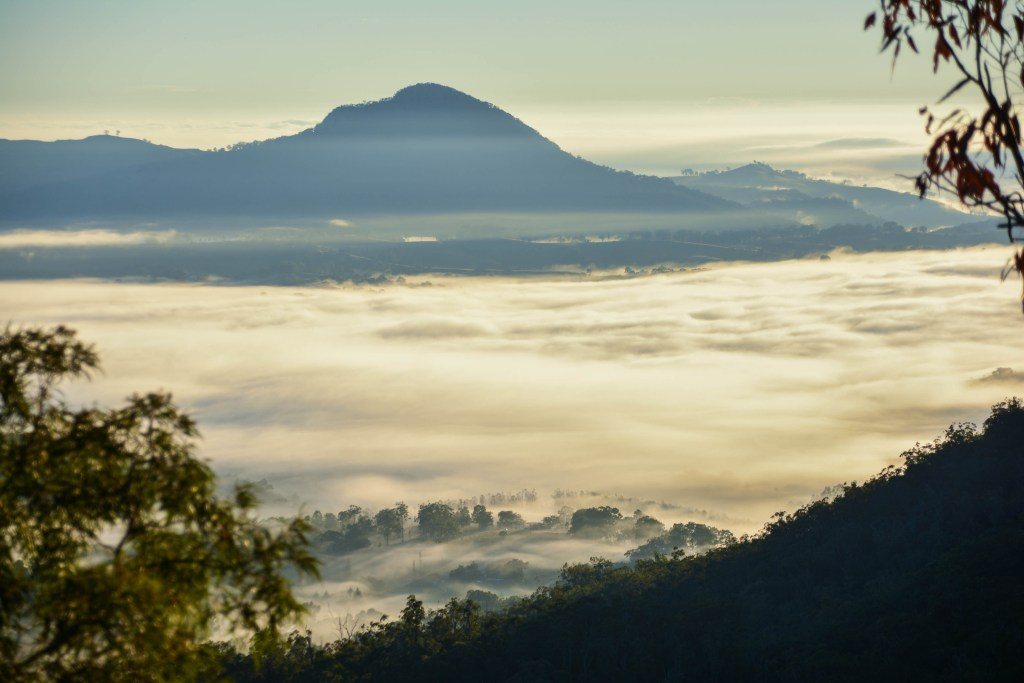 Lisa Owen Mt May hiking queensland qld scenic rim mountain view