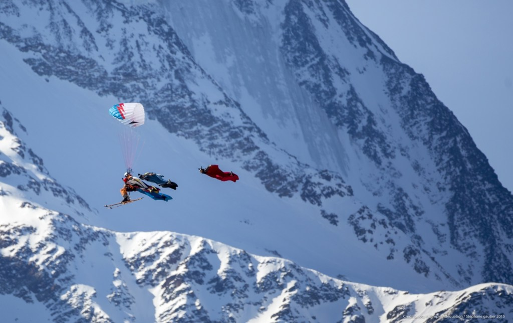 StephanGautier, Give Me Five, Radical Reels, Snow, Wingsuit