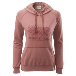 earth hoodie, kathmandu, womens, rose, sustainable