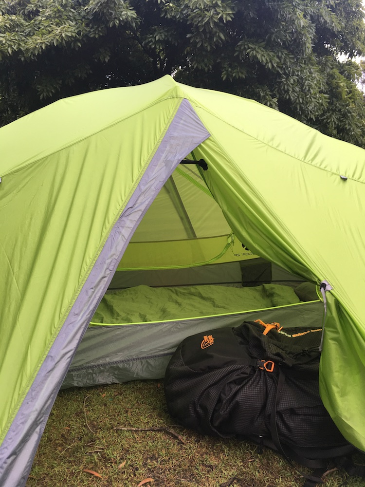tim ashelford, nemo dagger 2p, review, tent, gear, backpacking, ultralight, door