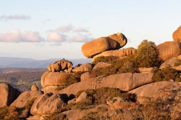 liam hardy, woolpack rocks, cathedral rocks national park, boulders, sunset,