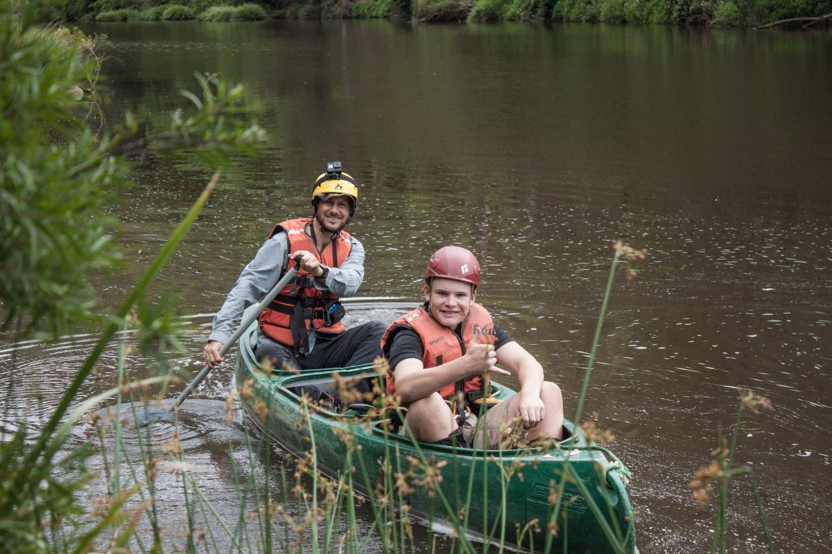 Ellie Keft human nature adventure therapy, bush, HNAT at-risk teens, canoeing, mentor, teenager